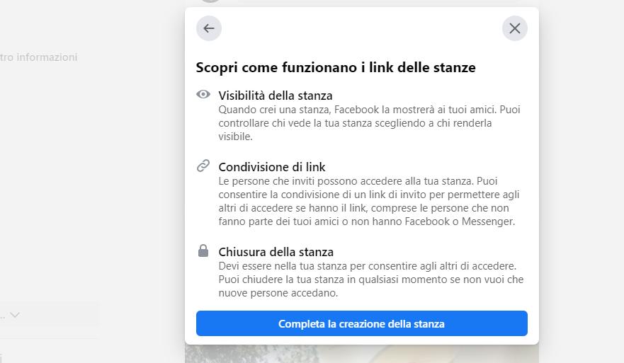 Ecco Messenger Rooms su Facebook