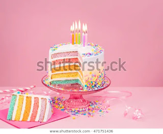 Cerpen Rainbow Cake
