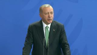 Erdogan: Turki Akan Tetap Berada Di Suriah Sampai Rakyatnya Bebas