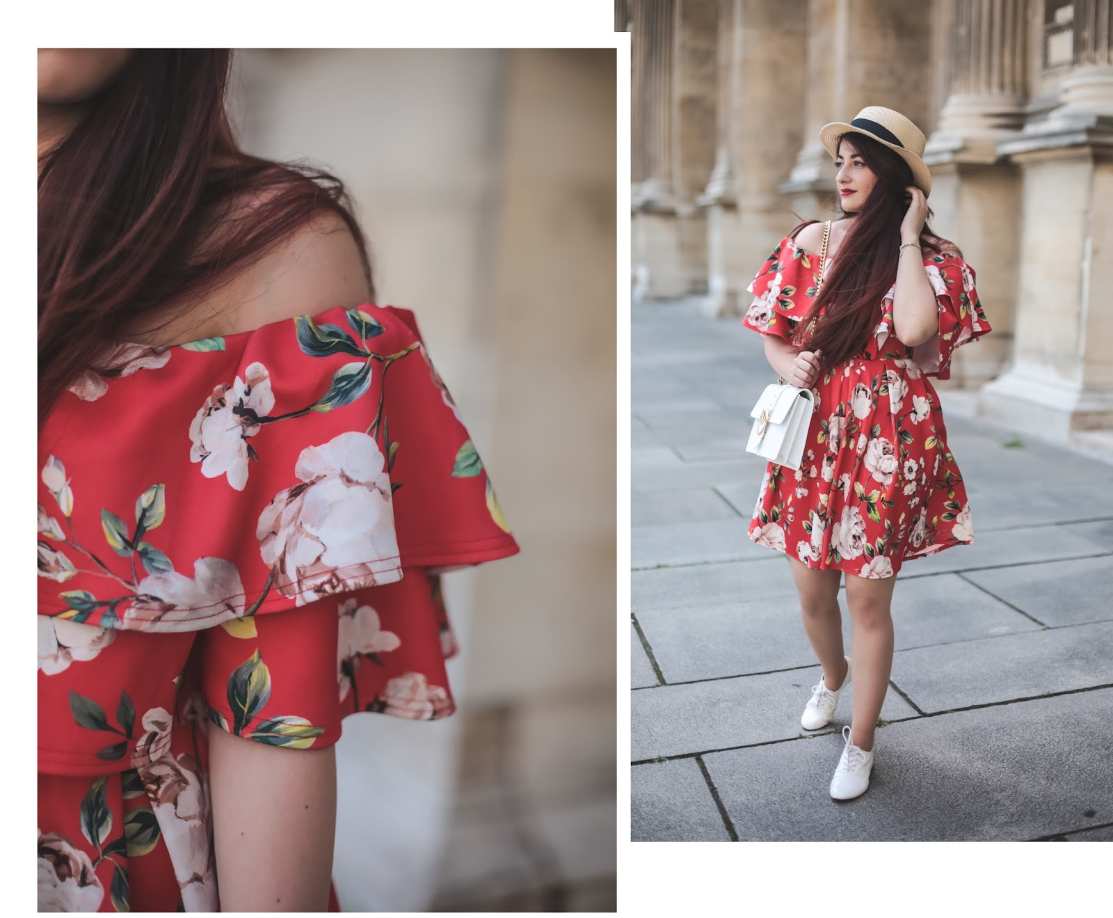 robe coquelicot blog mode