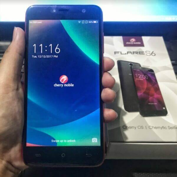 Cherry Mobile Flare S6 - Front