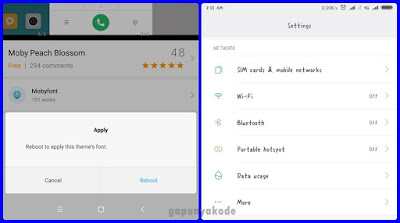 Cara Ganti Font Xiaomi Redmi Paling Mudah Tanpa Root dan Tidak Ganti Lokasi