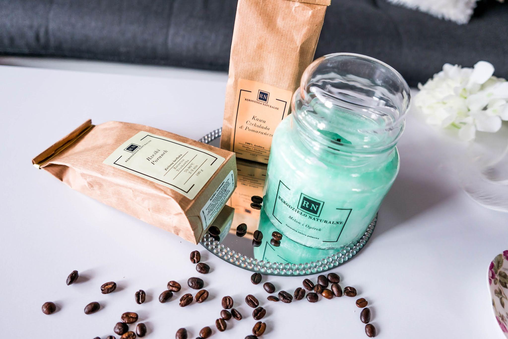 Naturalna kawa w ziarenkach