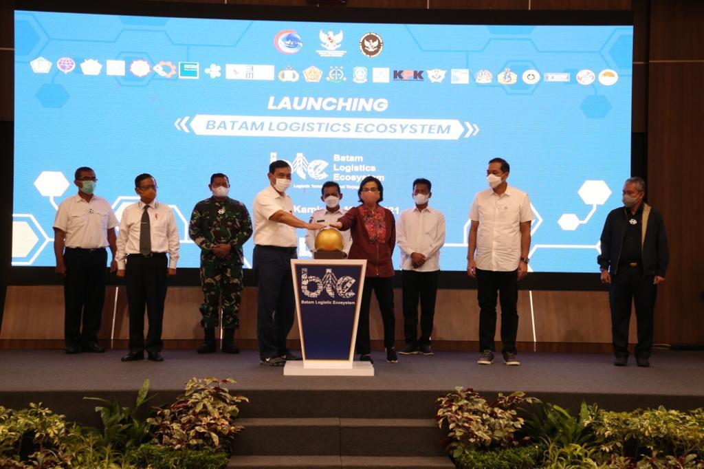Menko Luhut Luncurkan BLE, Rudi Dukung BLE  Jadi Pilot Project Nasional