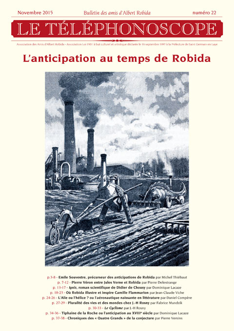 n°22 - L'anticipation au temps de Robida