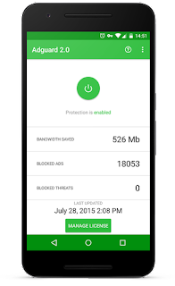 Adguard – Block Ads Without Root v3.2.97ƞ [Nightly] [Premium] APK