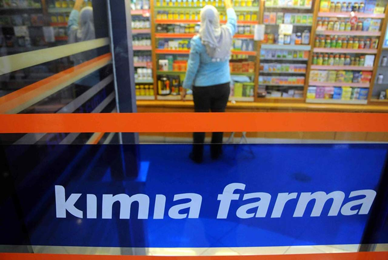 Kimia Farma. Foto via Republika