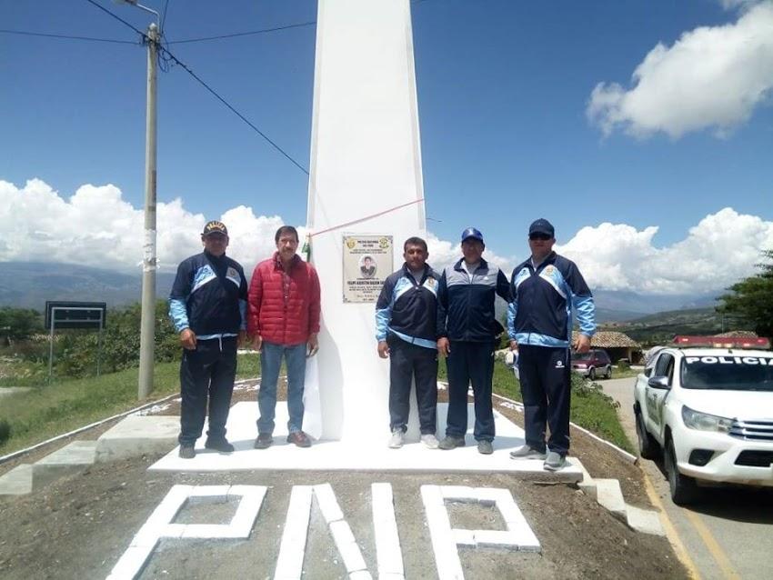 Construyen obelisco en homenaje al comandante Felipe Bazán Soles