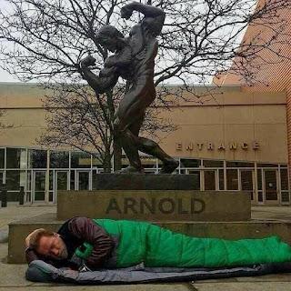 La historia viral de Arnold Schwarzenegger