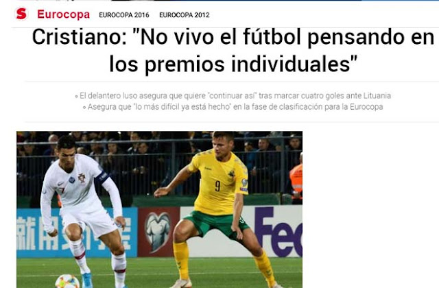"""Ronaldo chói sáng 4 bàn: Báo chí thế giới ngả mũ kính nể """"vua châu Âu"""" 7"""