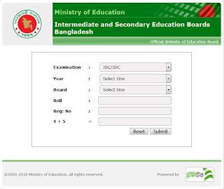 SSC Result 2019 Secondary Education Board