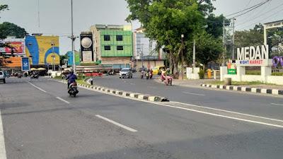 Penutupan Jalan di Medan Hanya Berubah Jadwal