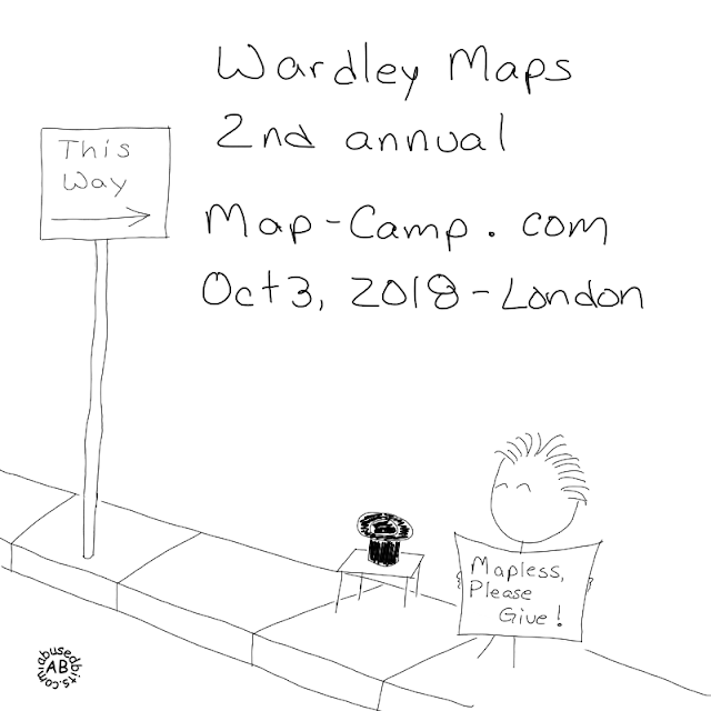 amusedbits, Wardley, mapping, maps, Simon, valuechain, cartoon