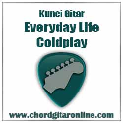Chord Coldplay Everyday Life