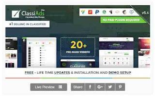 Download Theme Wordpress Classified Ads News