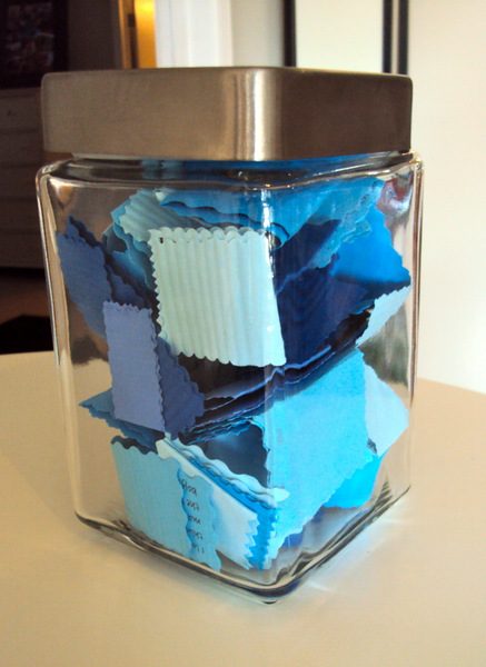 How to make a jar of love notes