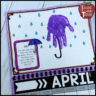 Umbrella Handprint