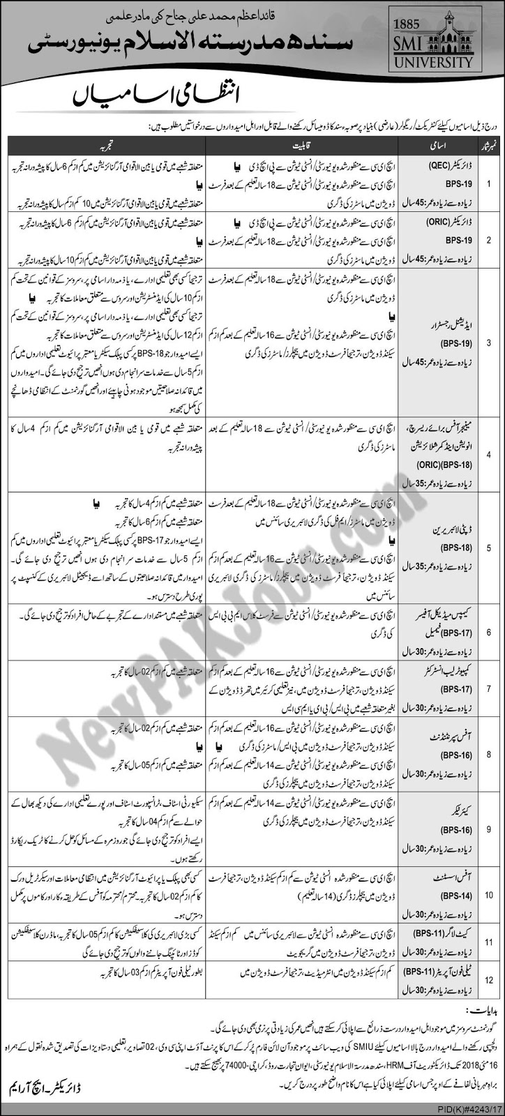 new-latest-jobs-in-sindh-madressatul