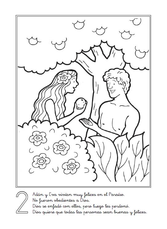 Imagenes Cristianas Para Colorear Dibujos Para Colorear De La Creacion