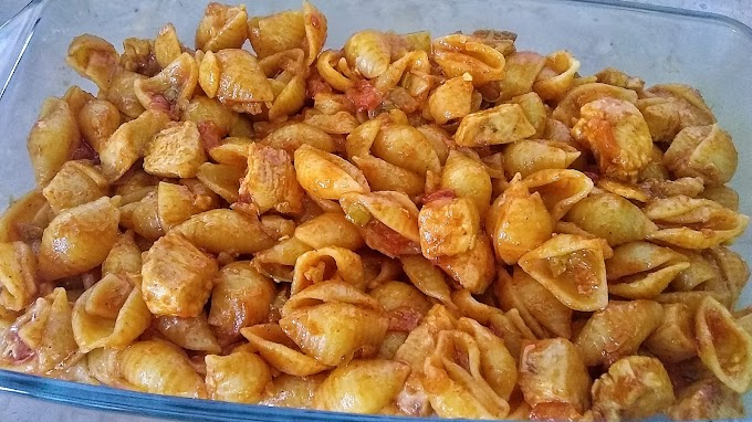 Easy Pasta Recipe with Chicken - Cooking with Saira