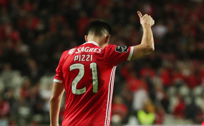 Pizzi: mais um golo e várias assistências