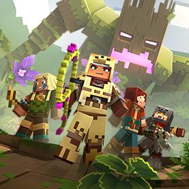 Minecraft Dungeons apk mod