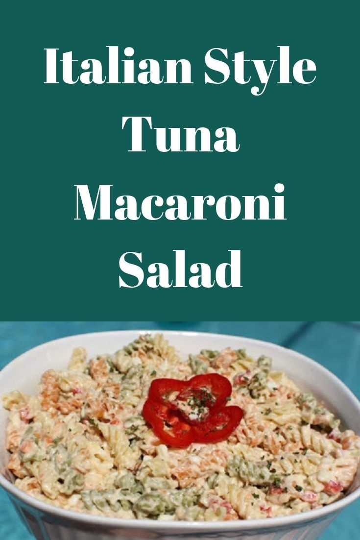 This is a pin for later tuna macaroni salad recipe