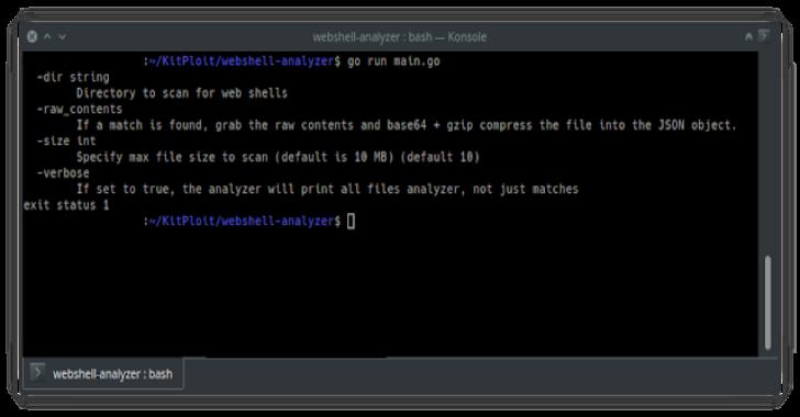 Webshell Analyzer : Web Shell Scanner & Analyzer