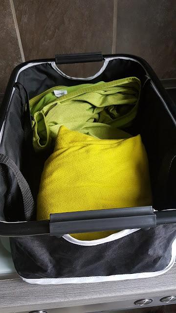 Der praktische Korb vom InnoPet Monaco Pet Stroller