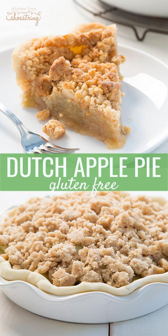 Gluten Free Dutch Apple Pie