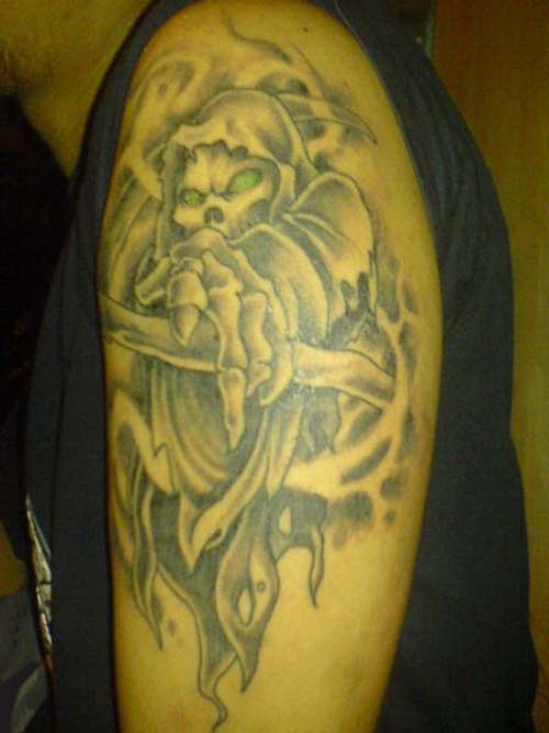 death tattoo designs for men - photo #15