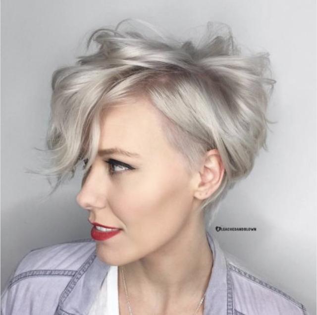 pixie cut thinning hair