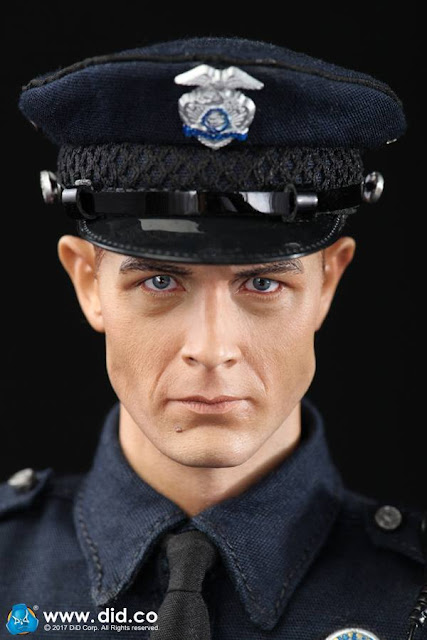 """osw.zone DID MA1009 1 / 6th scale LAPD patrol officer """"Austin"""" aka Robert Patrick as T-1000 12 """"FIG"""