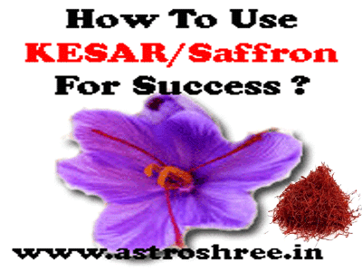 saffron use in astrology, solutions through kesar or saffron by astrologer