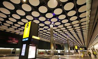 Terminal T4 del aeropuerto de Barajas.