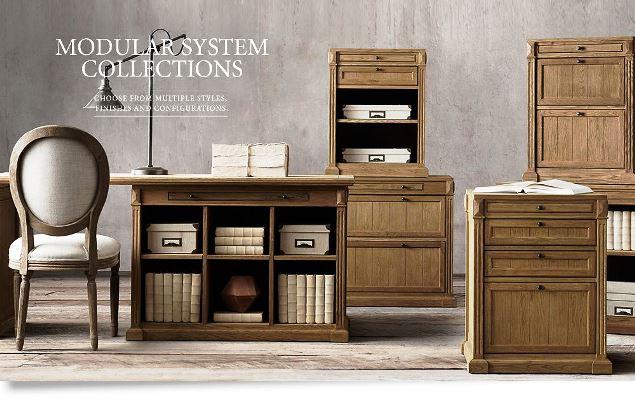 modular solid oak home office furniture. Original Highland Solid Oak Home Office Manager Work Desk Modular Furniture T