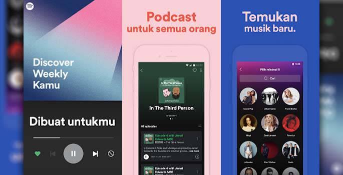 Download Spotify Music Premium apk Mod Terbaru