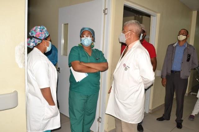 Director hospital Vinicio Calventi confirma aumento demanda de los servicios