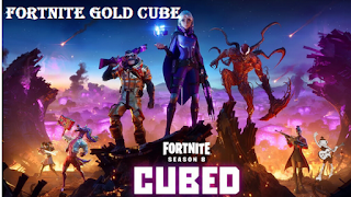 Where is the gold cube in fortnite, travel route and more Fortnite Gold Cube