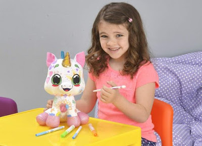 Crayola Color 'N Plush unicorn