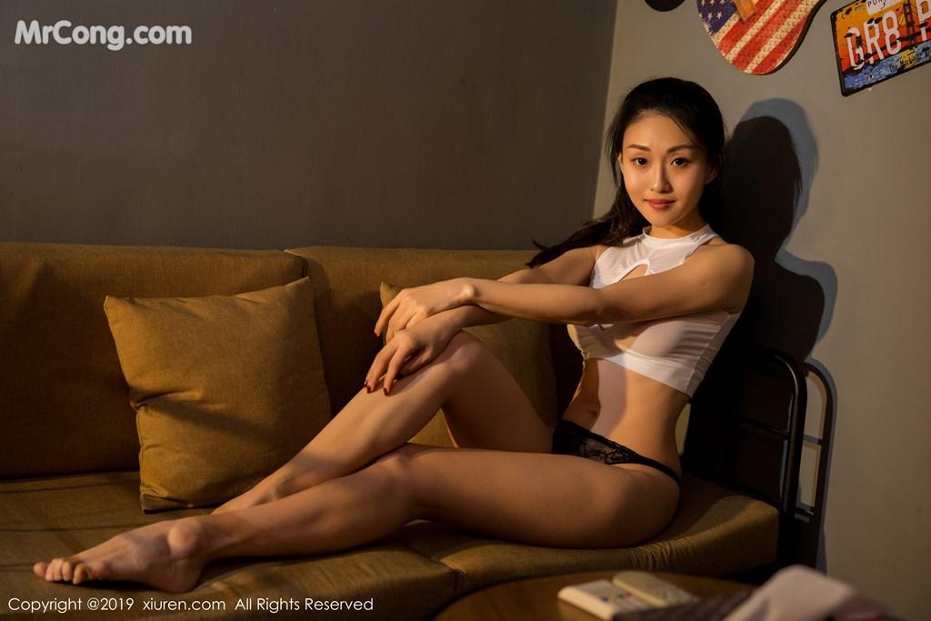 Image XIUREN-No.1361-Baby-MrCong.com-001 in post XIUREN No.1361: 狐小妖Baby (52 ảnh)