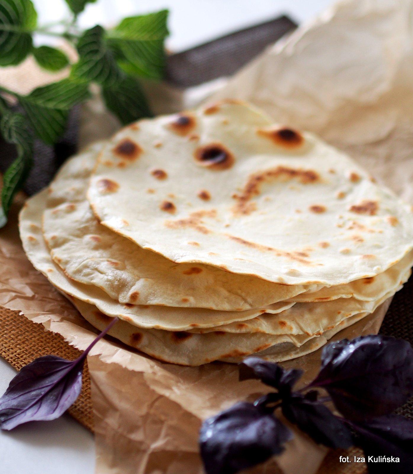 Tortille pszenne domowe