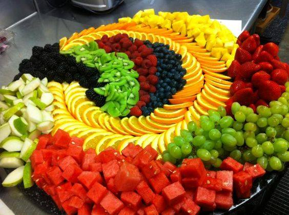 how to make a nice fruit platter