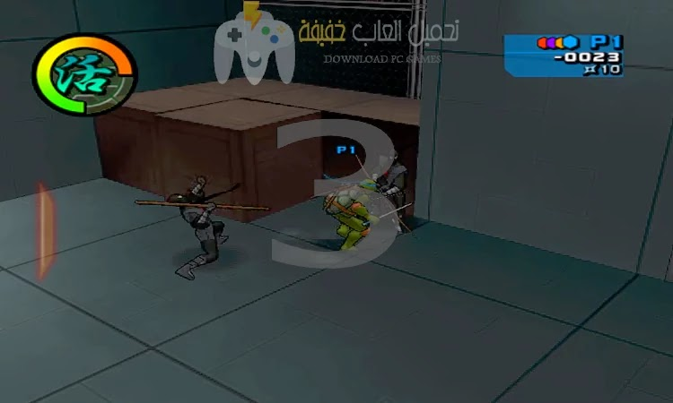 تحميل لعبة سلاحف النينجا جميع الاصدارات للكمبيوتر بحجم صغير