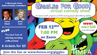 Giggles for Good - Virtual Comedy Show - Feb 12, 2021