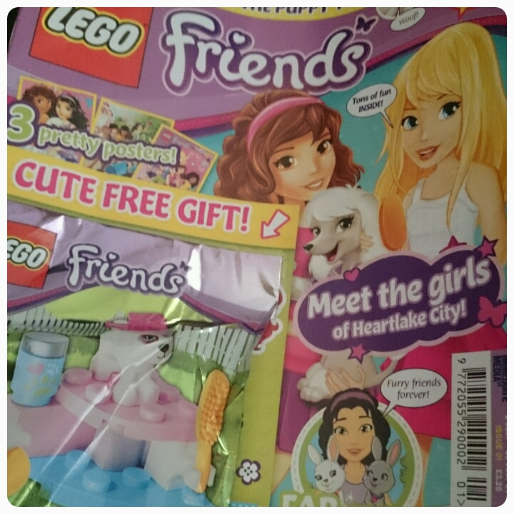 lego friends magazine