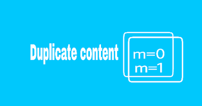 Mengatasi Masalah Kode Duplikat Konten Pada Url Blogger