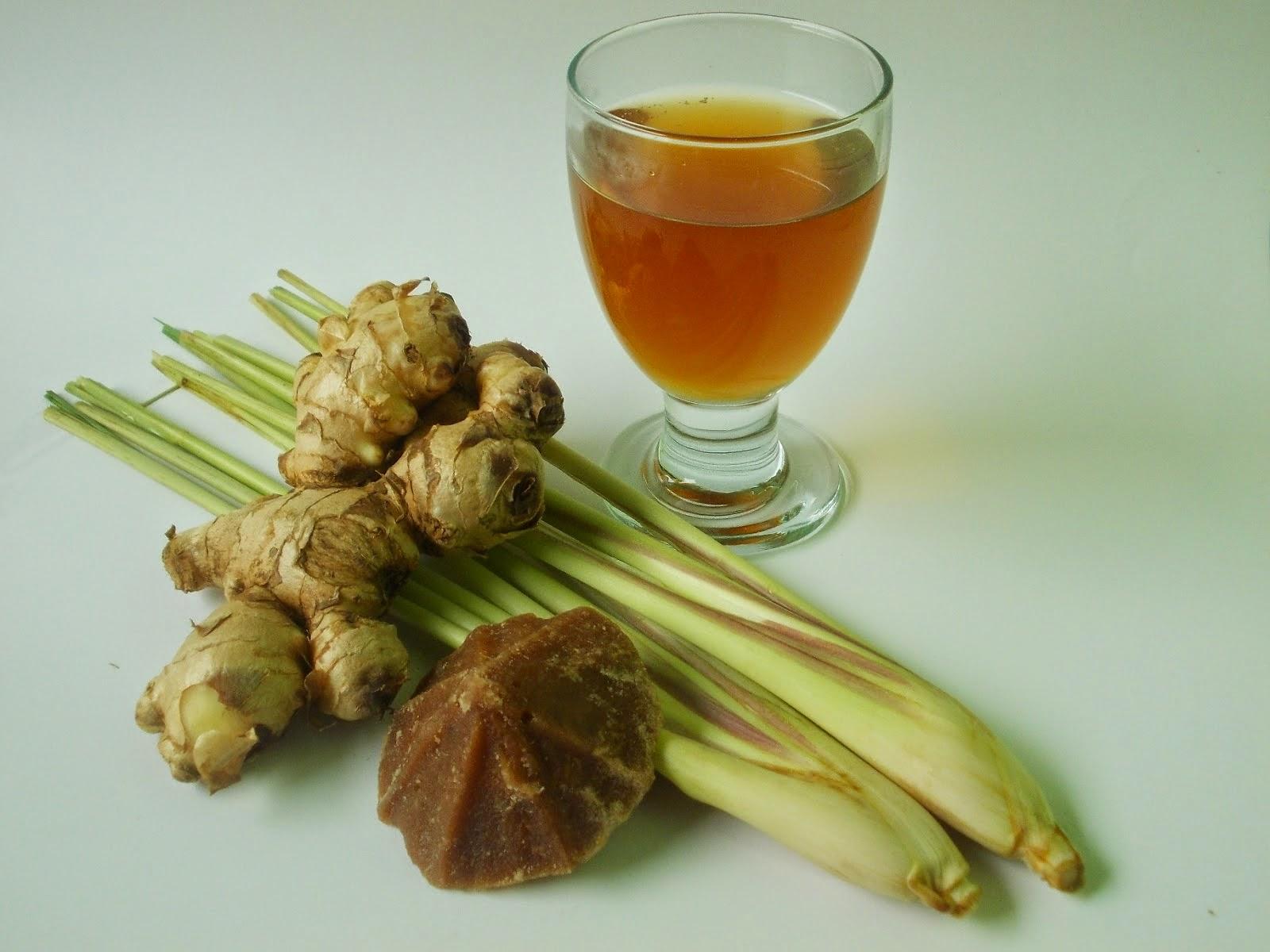 Resep Wedang Jahe Serai Ginger Lemongrass Drink Recipes RESEP