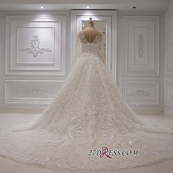 https://www.27dress.com/p/gorgeous-crew-long-sleeve-lace-ball-gown-appliques-bridal-gowns-108835.html