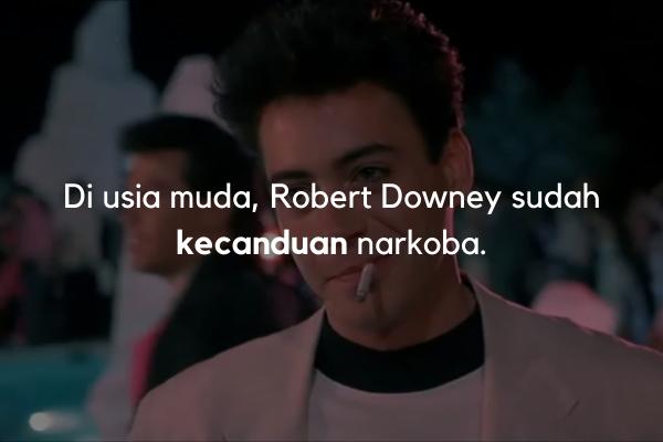 Robert Downey kecanduan narkoba